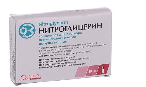 Помимо классических спазмолитиков, улучшить функциональное состояние поджелудочной железы помогают уколы Нитроглицерина